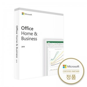 [마이크로소프트] Office Home and Business 2019WIN/KOR/PKC